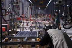 5 fabryki Fotografia Stock
