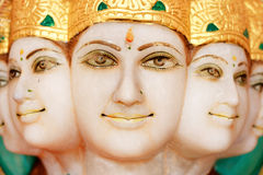 5 face hindu god Royalty Free Stock Images