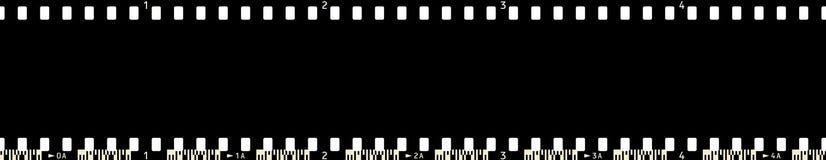 5 filmframe x4 Стоковое фото RF