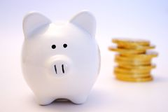 5 finanser arkivfoto