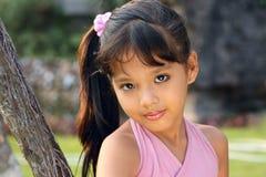 5 gammala utomhus- år för barn Royaltyfria Bilder
