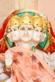 5 gezichts Hindoese god royalty-vrije stock afbeeldingen