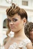 5 hairdresses конкуренции wedding Стоковое фото RF