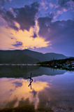 5 hakone lakes royaltyfria bilder