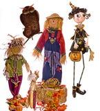 5 Halloween Zdjęcie Stock