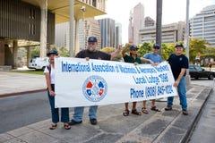 5 hawaii en samlar solidaritet Royaltyfri Fotografi