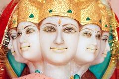 5 hinduskiego boga twarzy zdjęcia stock