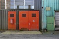 5 industriales Foto de archivo libre de regalías