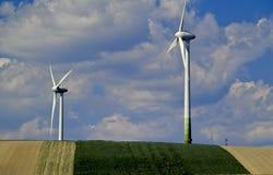 5 ingen windmill Arkivbild