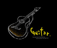 5 inkasowa gitary instrumentów skała royalty ilustracja