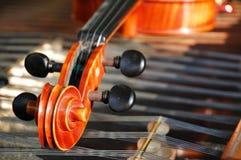 5 instrumentów musical Obraz Royalty Free