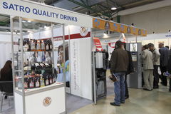 5 International vending exhibition 23-25 march 201 Royalty Free Stock Photos