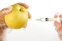 5 jedzenie genetycznie modyfikujący zdjęcie stock