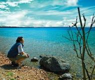 5 jezioro Obrazy Stock