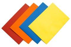 5 koperta kolorowa Obraz Stock