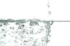 5 kropli wody. Obrazy Royalty Free