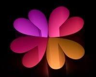 5 kwiat Zdjęcie Stock