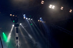 5 light show Στοκ φωτογραφία με δικαίωμα ελεύθερης χρήσης