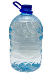 5 Liter Plastikflasche stockbild