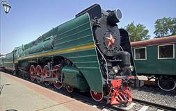 5 lokomotyw kontrpara Fotografia Royalty Free