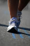 5 maratonlöpare Royaltyfria Foton