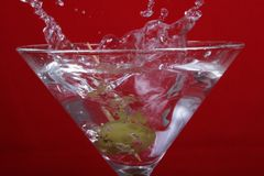 5 martini Royaltyfria Bilder