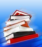 5 massiva böcker Arkivbild