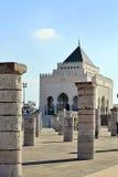5 mausoleum mohamed morocco rabat Arkivfoton