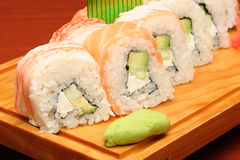 5 mexikanska sushi Royaltyfria Bilder