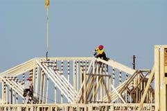 5 mieszkaniowa budowlanych Obraz Stock