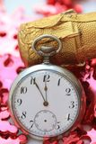 5 minutes till New Year Royalty Free Stock Photo