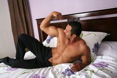 5 model sexigt för manlig Arkivbilder