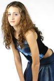 5 model teen Arkivfoton