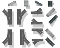 5 mostów tworzenia diy ity zestawu mapy część Obrazy Royalty Free