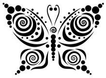 5 motyli ornamental Zdjęcia Royalty Free