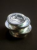 5 mynt Arkivfoton
