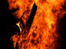 5 ogień fotografia royalty free
