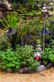 5 ogrodowych szczęśliwi Zdjęcia Royalty Free