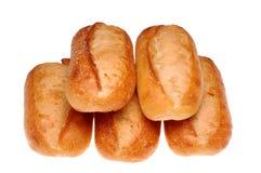 5 panes de pan Foto de archivo