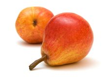 5 pears Royaltyfri Fotografi