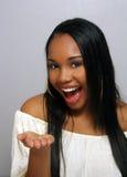 5 piękny dziewczyny haitian headshot Obraz Royalty Free