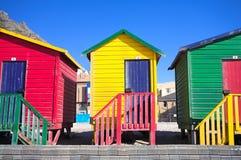 5 plażowy Muizenberg Zdjęcia Stock
