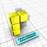 5-prestaties beheer (5/6) Stock Fotografie