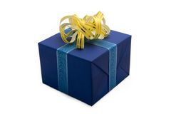 5 pudełek prezent Obrazy Royalty Free