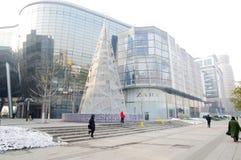 5 quadratisches Einkaufszentrum in Jinnan, China Stockfotos