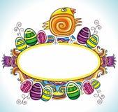 5 rama Easter Fotografia Stock