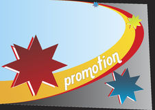 5 reklamują układ Fotografia Royalty Free