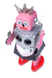 5 robotów gospoś rocznik zabawek fotografia royalty free