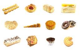 5 séries cuites au four de marchandises Image libre de droits