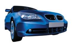 5 séries entières bleues de BMW Photos libres de droits